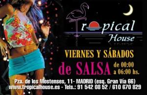 Tropical house viernes y sábados